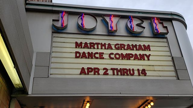 Reporting from @thejoycetheater, a sneak peek at what goes on in between shows with @marthagrahamdance . Alot of recovery, jokes and dancer's diligently doing their RESET exercises. Merde!