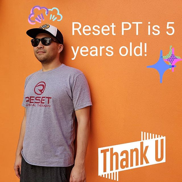 How has it been 5 years already? Thank you patients, interns, friends and family for making my dreams come true. I seriously believe that I have the best PT job in the world! Gracias and be nice to yourselves.
