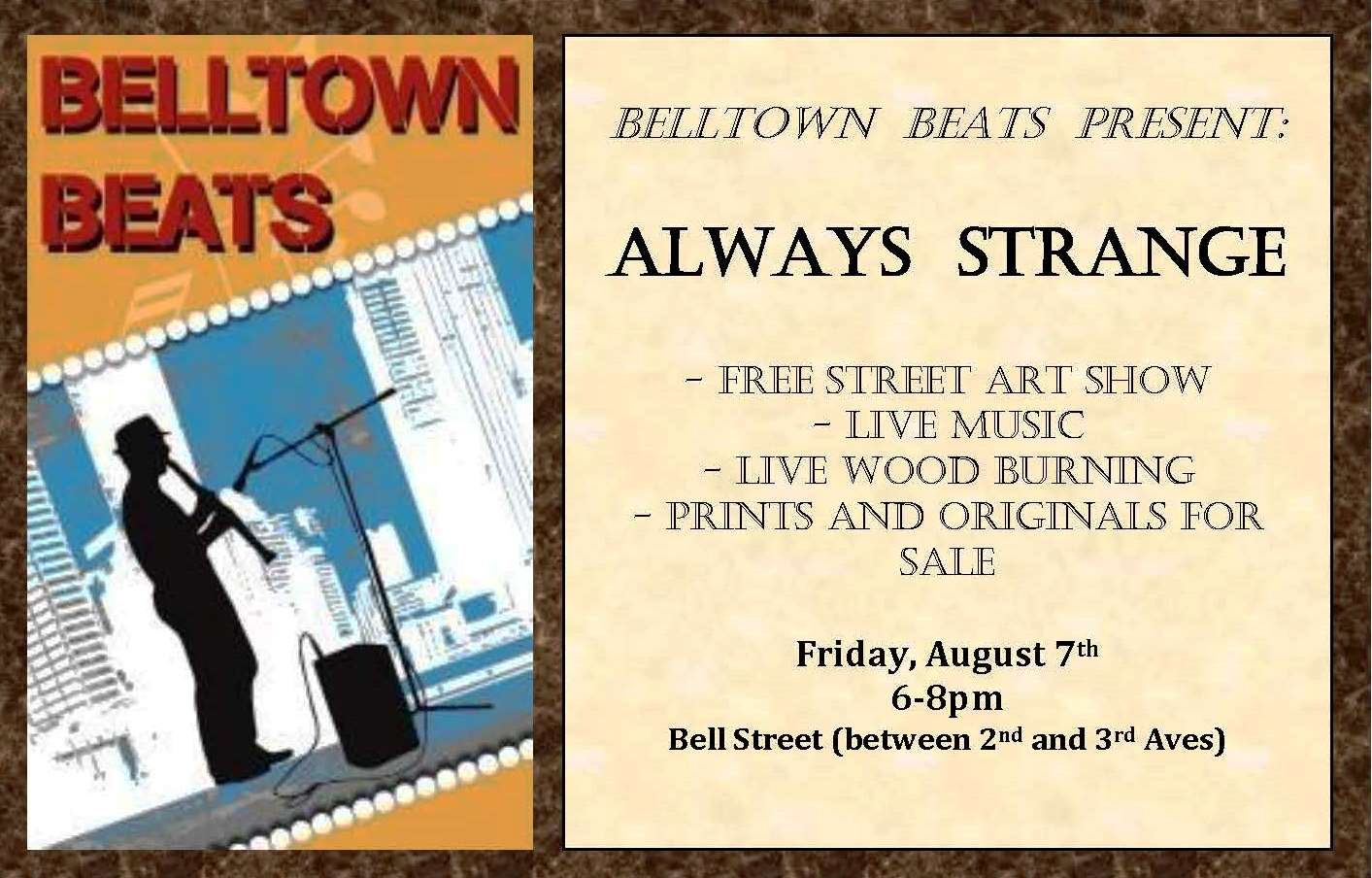 August 7, 2015 - Belltown Beats (Seattle, WA)