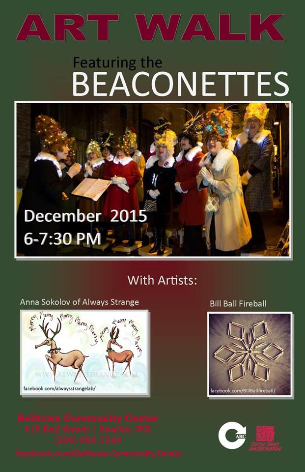 December 11, 2015 - Belltown Art Walk (Seattle, WA)