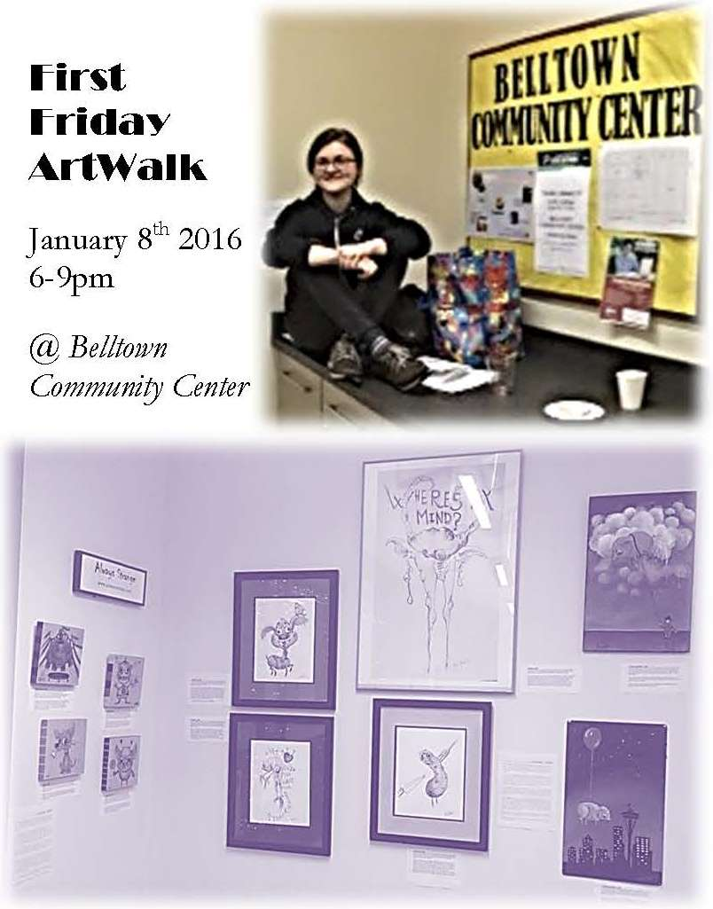 January 8, 2016 - Belltown Art Walk (Seattle, WA)