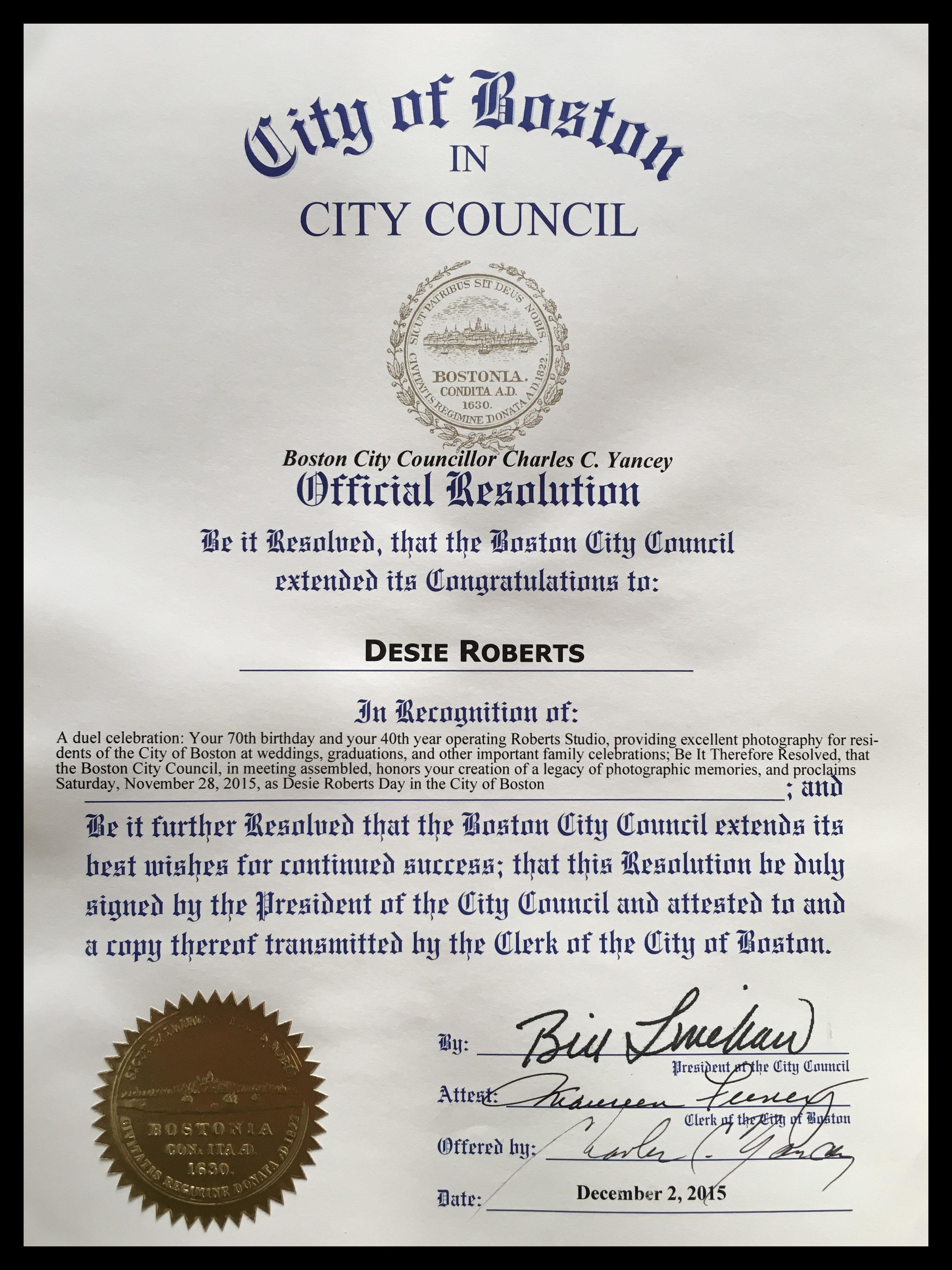 City Council Resolution.JPG