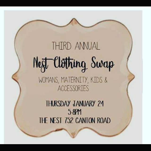 Even if you didn't get in for the swap, you can still show up tomorrow and purchase Nest Boutique items from @petitepalmhaiti  and @artbybridgetanne !!