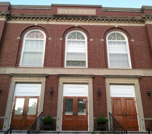 Roslindale House Entrance