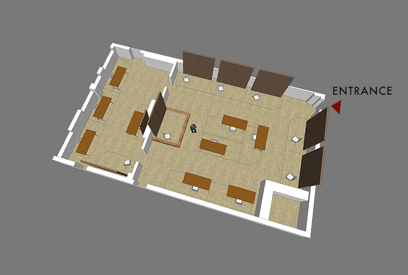 Roslindale Congregational Church Layout