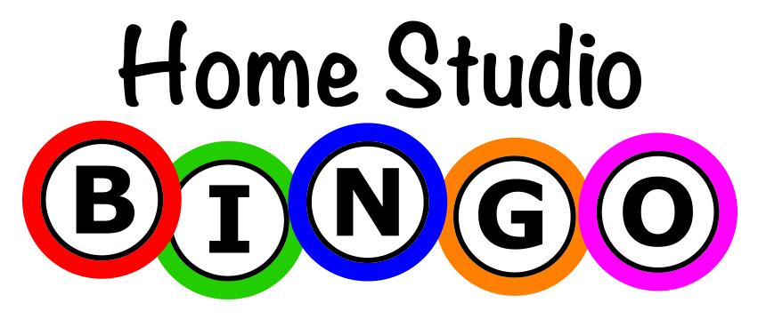 Home Studio Bingo
