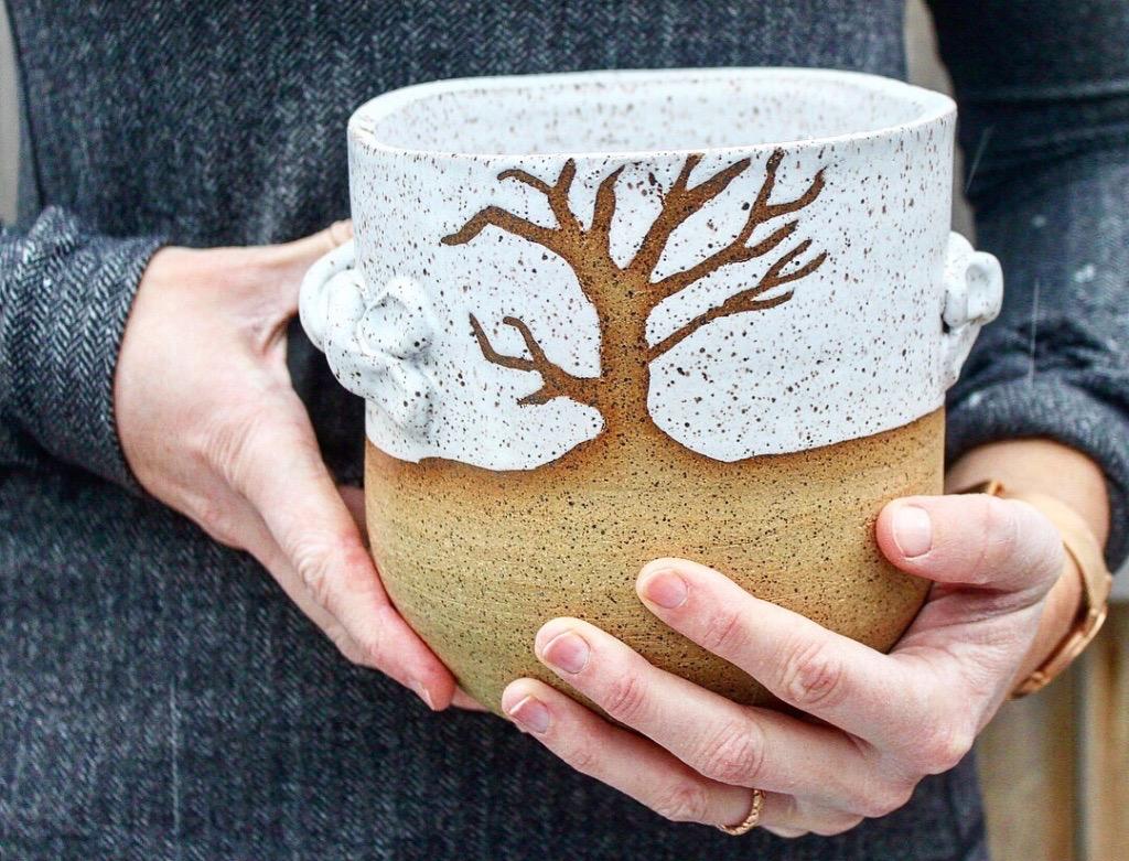 Elizabeth Martin- Beech St. Pottery   ,  @beechstpottery  Home Studio - 176 Beech St.