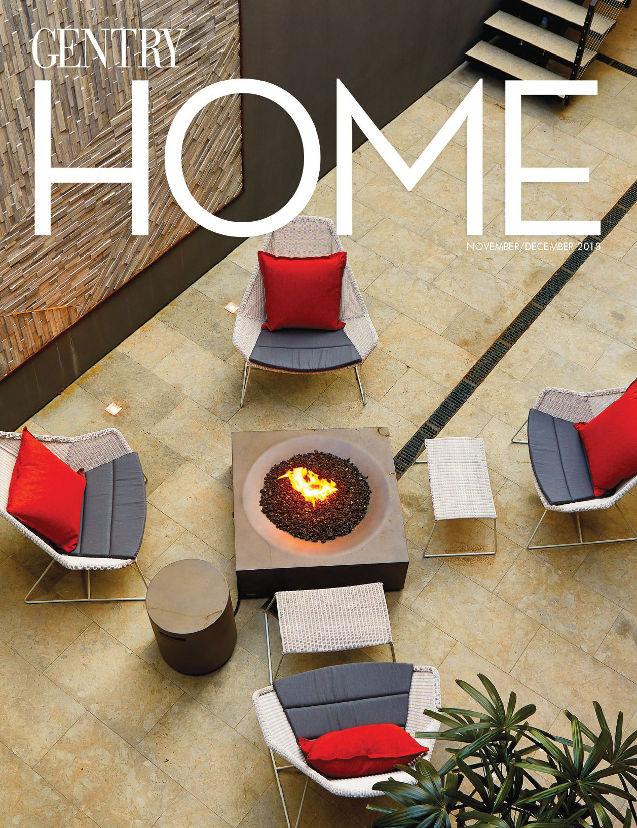 "Gentry Home Magazine  |  NOV/DEC 2018   ""California Chic"""