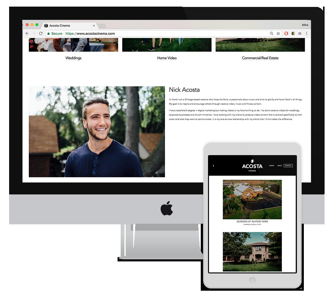 Website. -