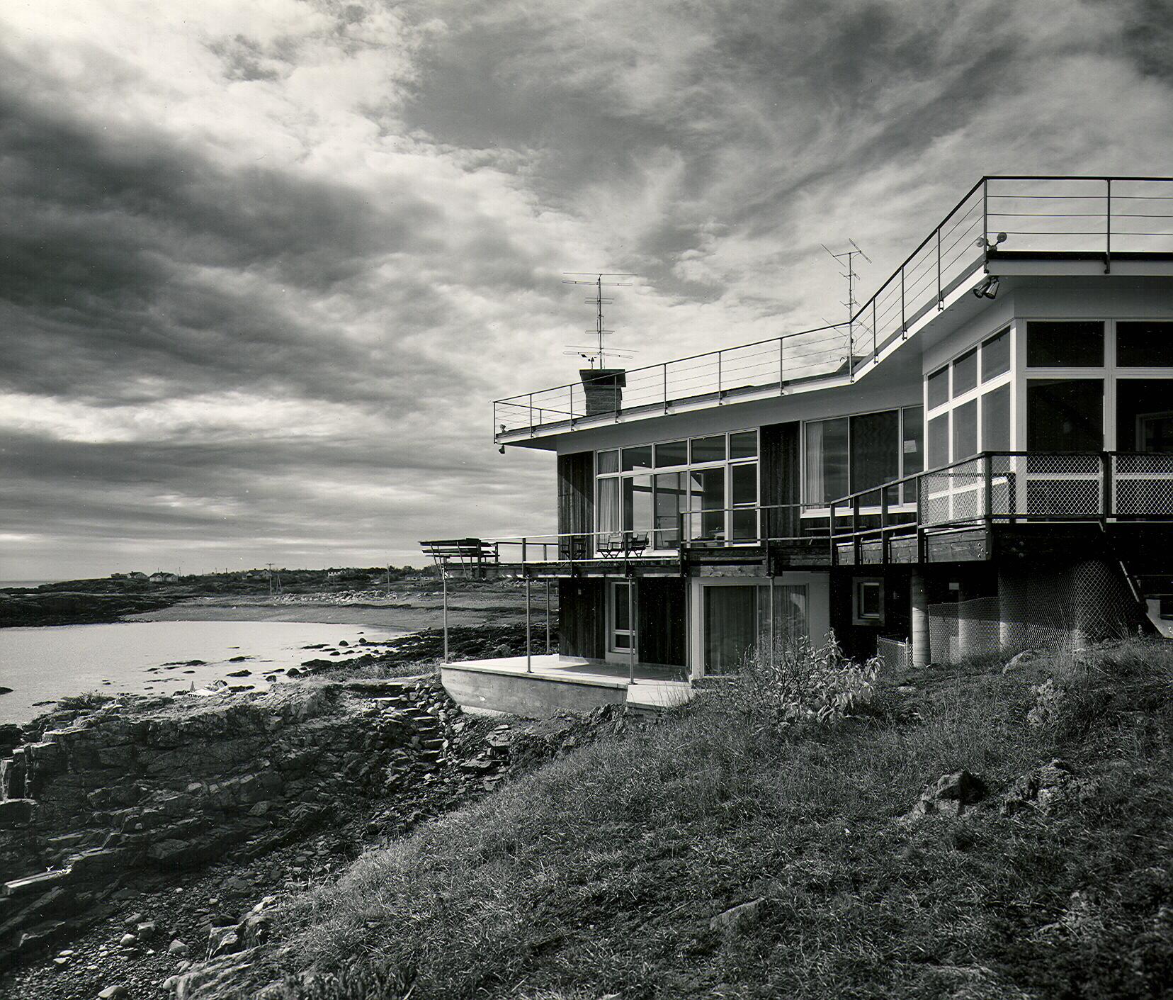 publication photograph of original home