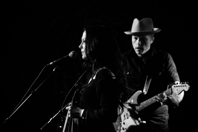 Amanda Shires with Jason Isbell