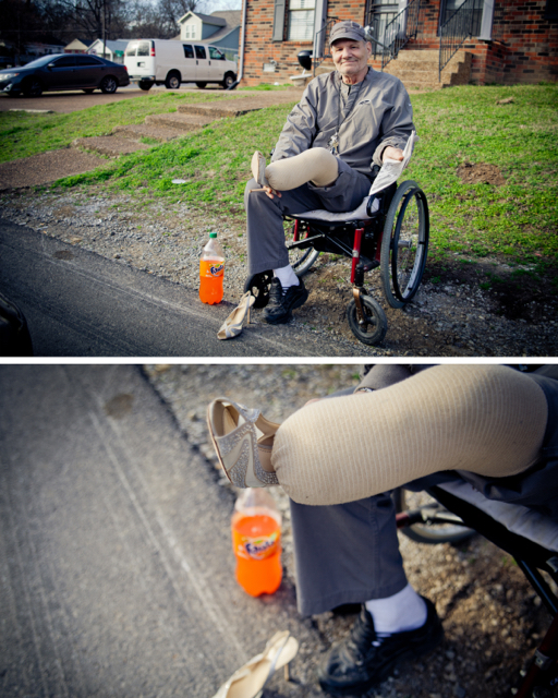 Bo Singleton – Disabled Homeless Veteran