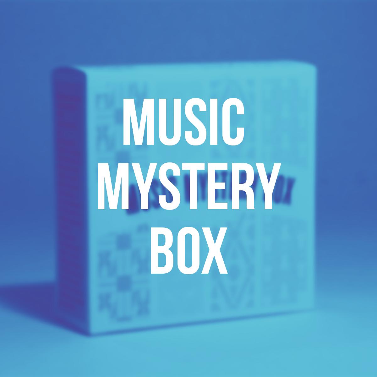 Music Mystery Box - Packaging / Print