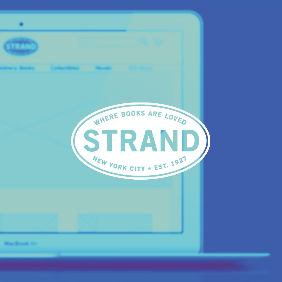 UX Design & Information Architecture - Strand Books