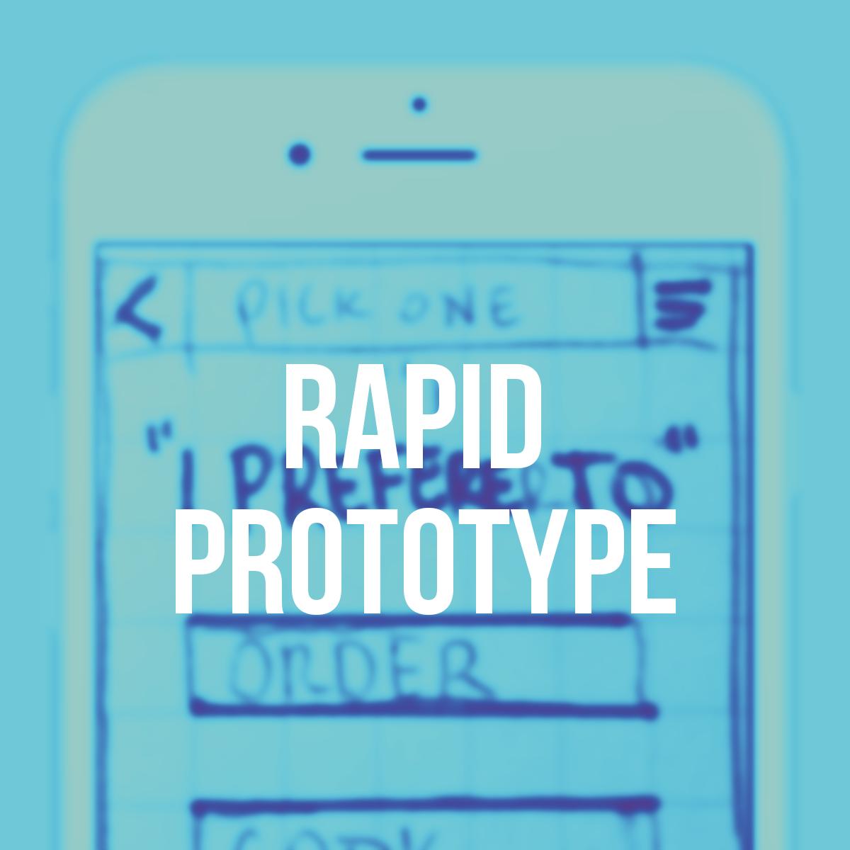 Rapid Prototype - Paper prototype excercise