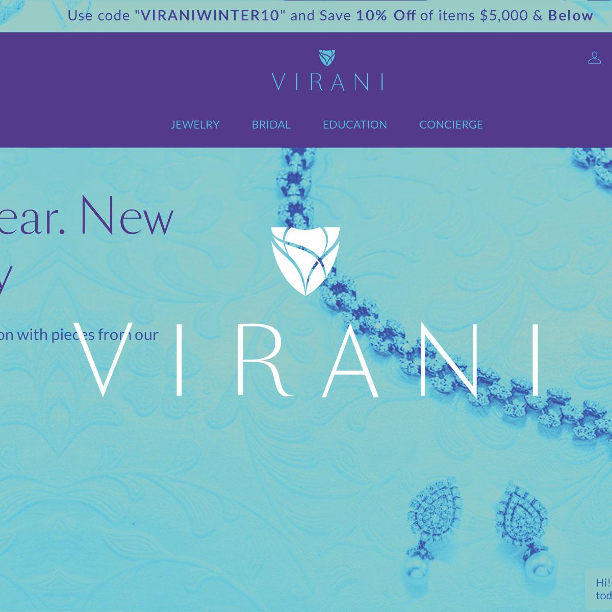 LUXury JEWELRY E-COMMERCE - Virani Jewelers - Responsive