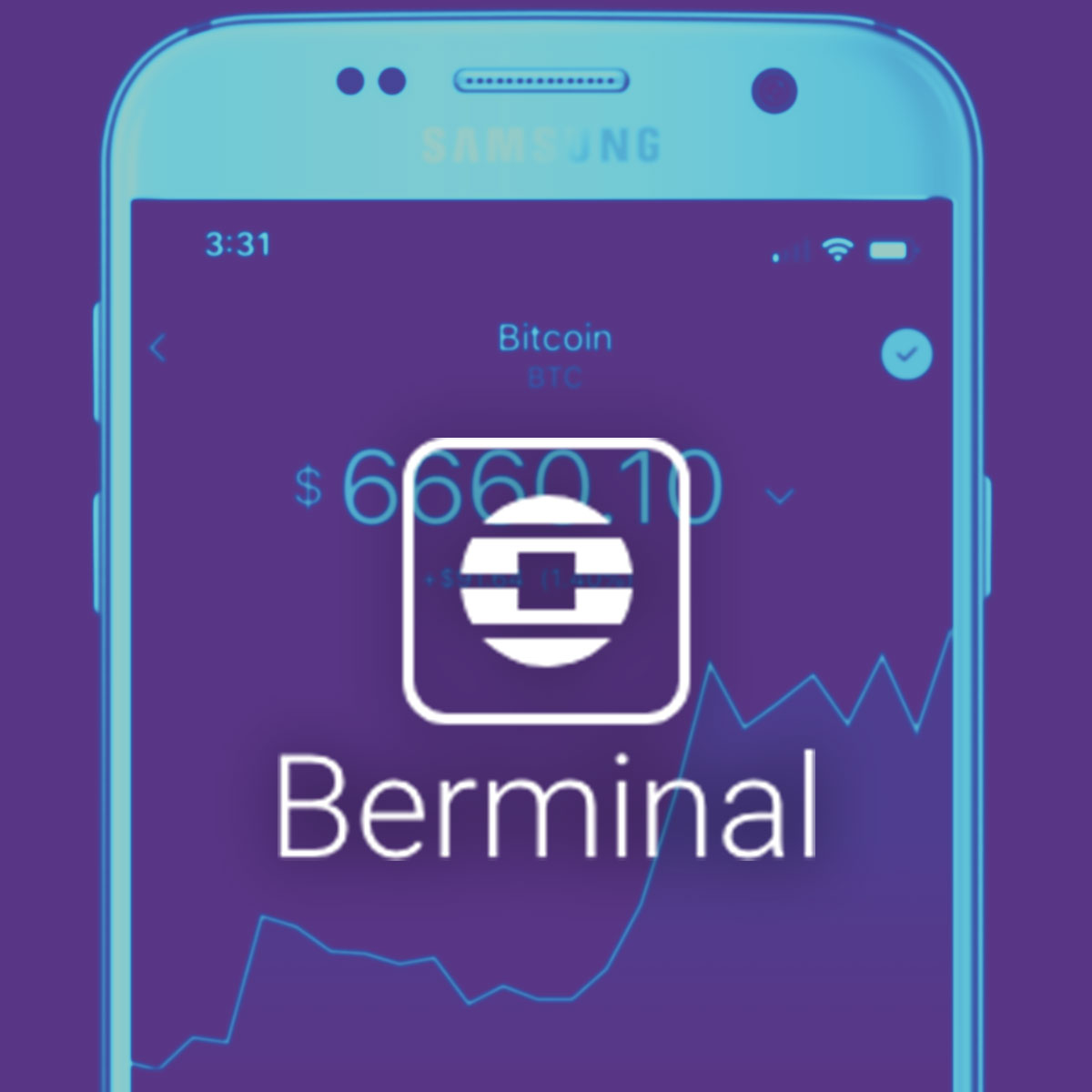 Cryptocurrency mobile app - Berminal - Mobile App
