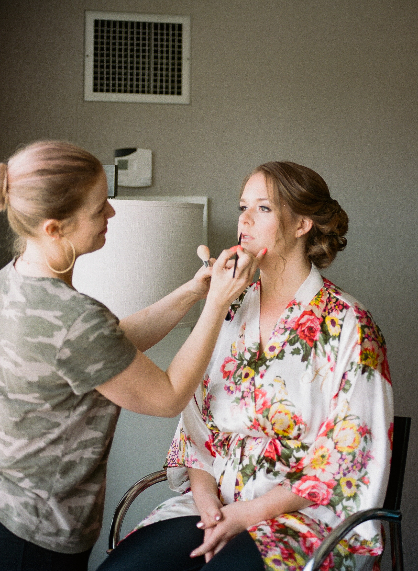 BRIDAL ROBE FOR GETTING READY