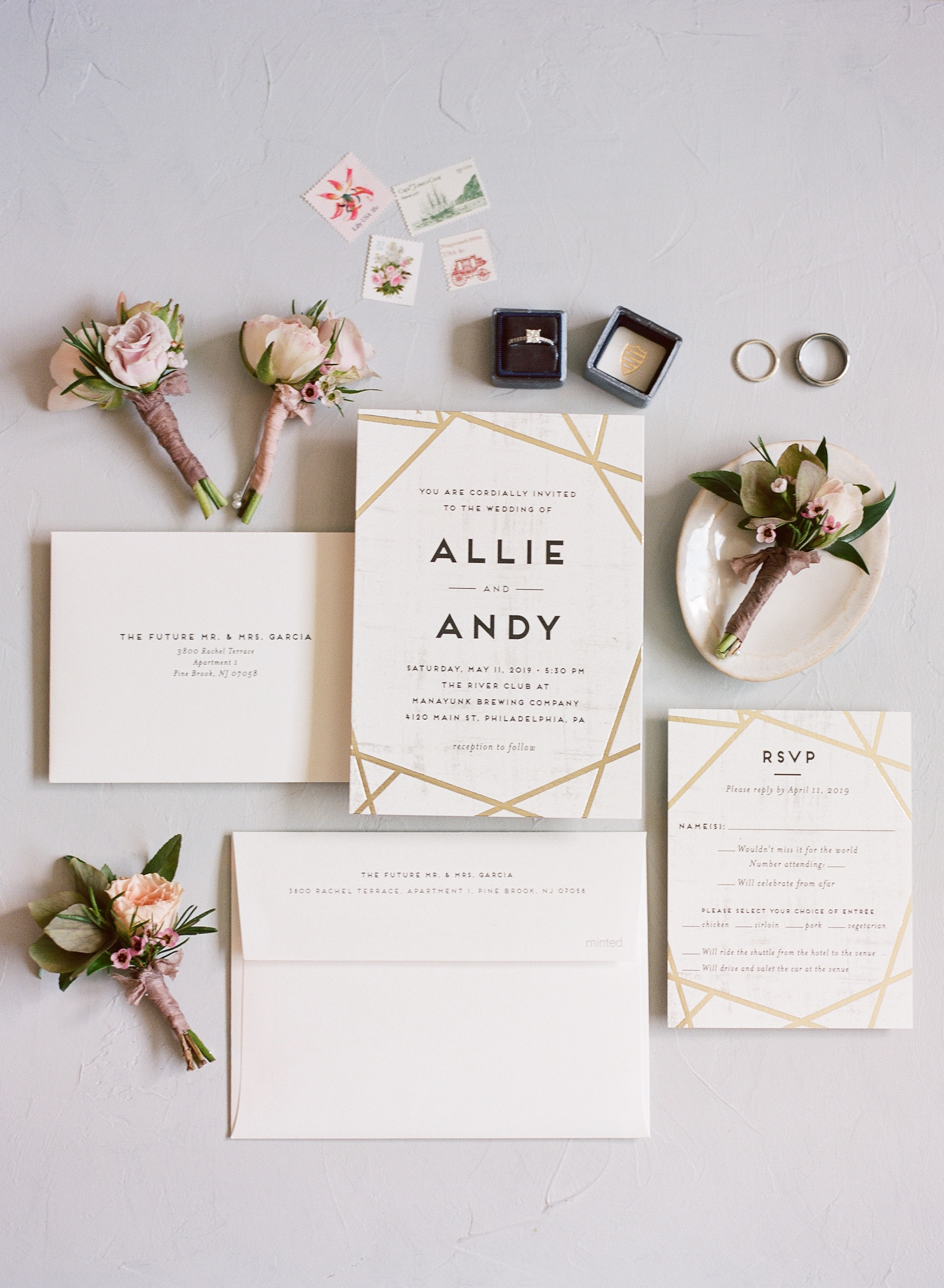 WEDDING INVITATION BY MINTED