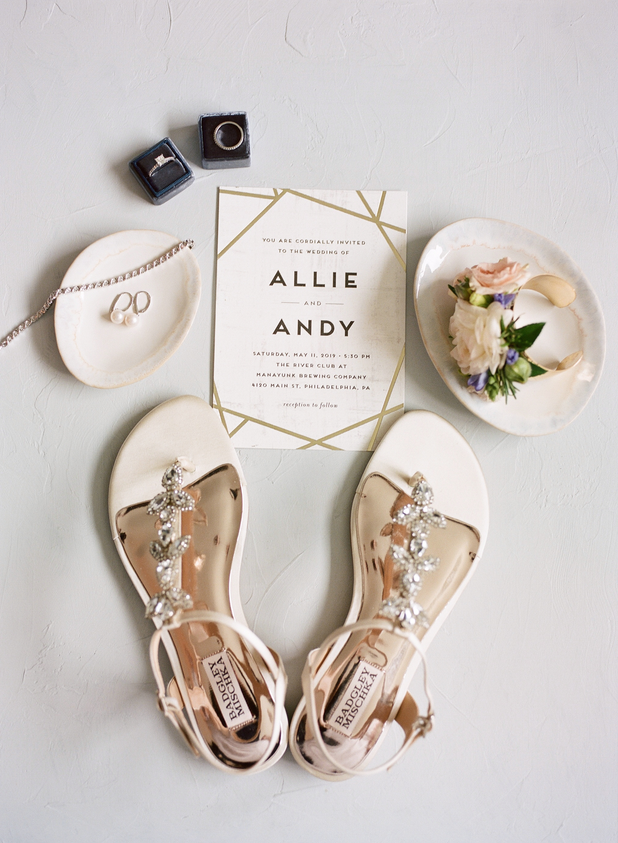 BADGLEY MISCHKA BRIDAL FLATS