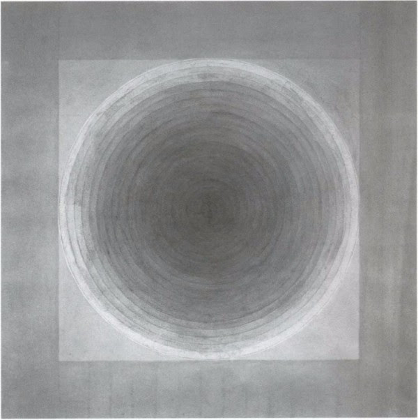 Eva Hesse,  no title , ink wash and charcoal, 1966