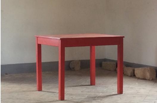 Writing Desk, Topography of Memory, Tenuta di Spannocchia, Italy
