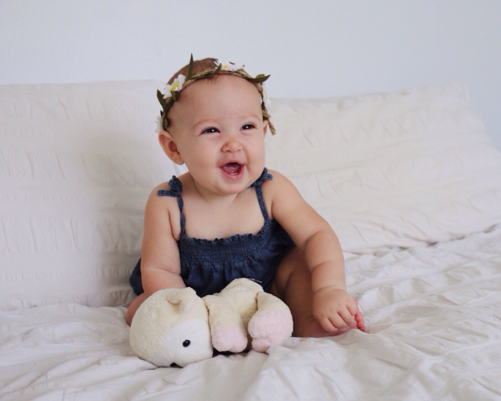 Baby Laura today. 6 months old!
