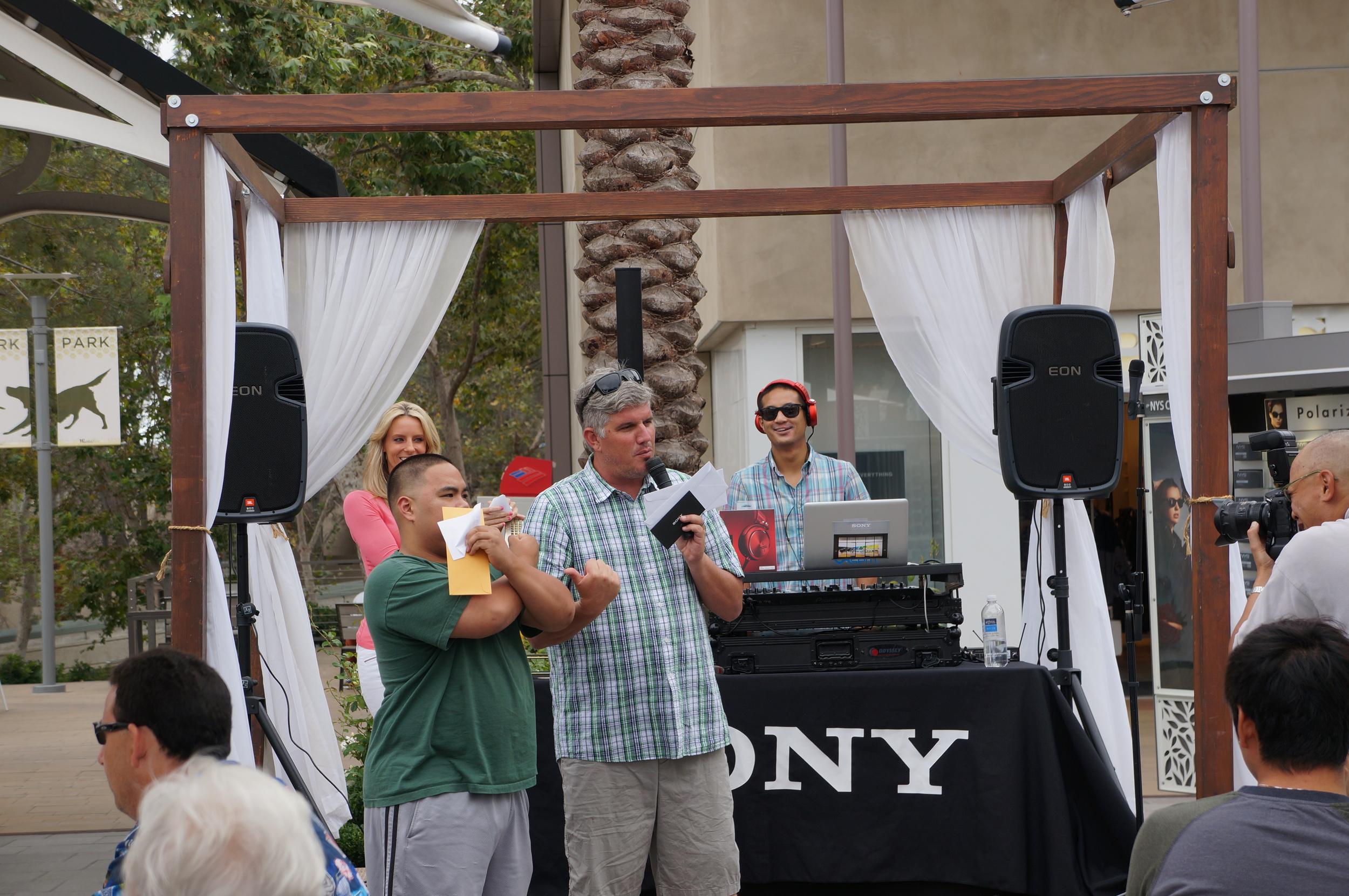 Sony Store Grand Opening DJ, UTC, San Diego