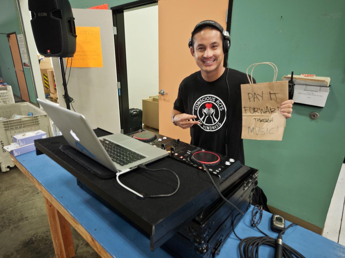 Charity Event DJ, Feeding America San Diego