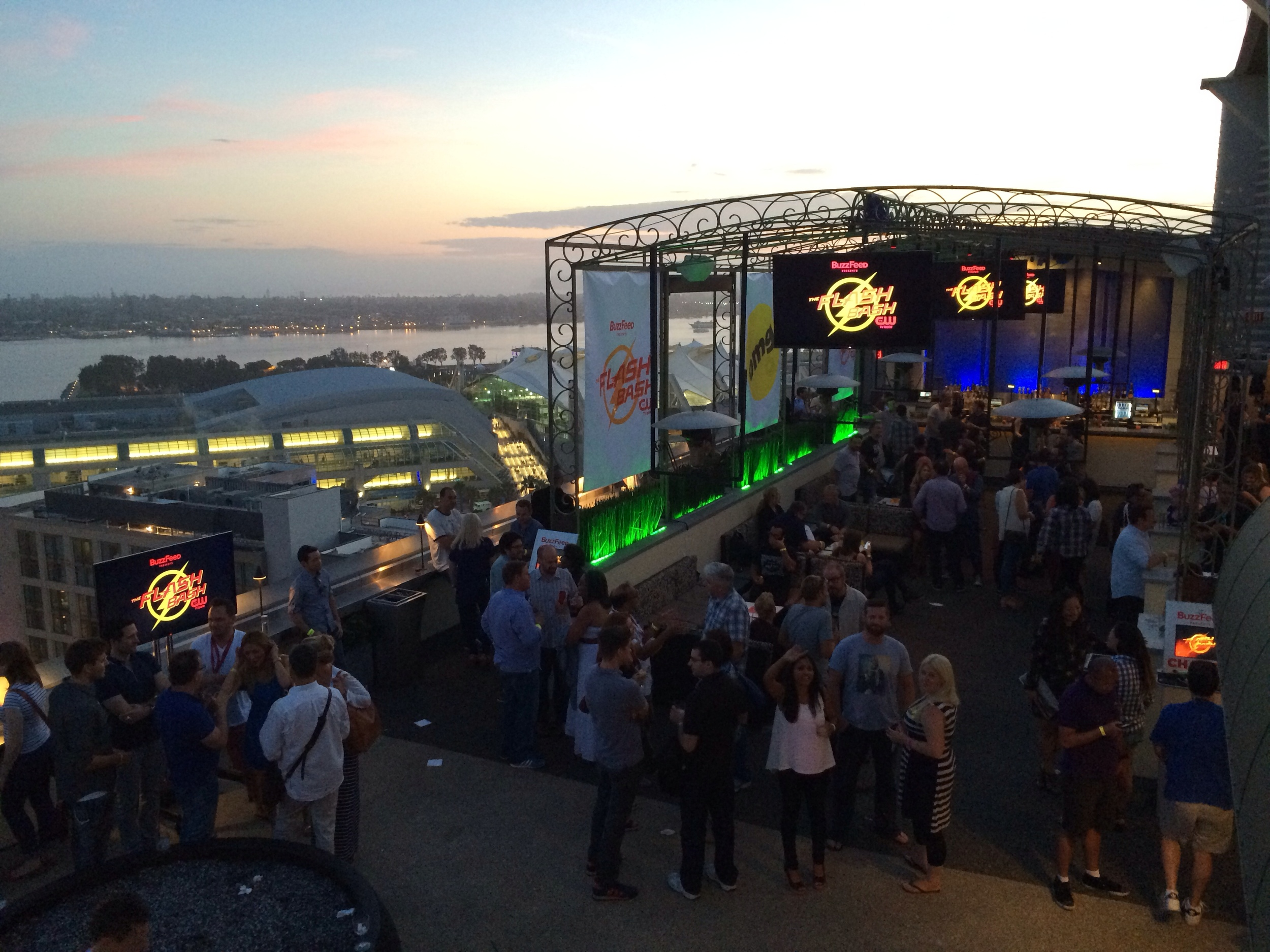 Corporate event - BuzzFeed Comic-Con party