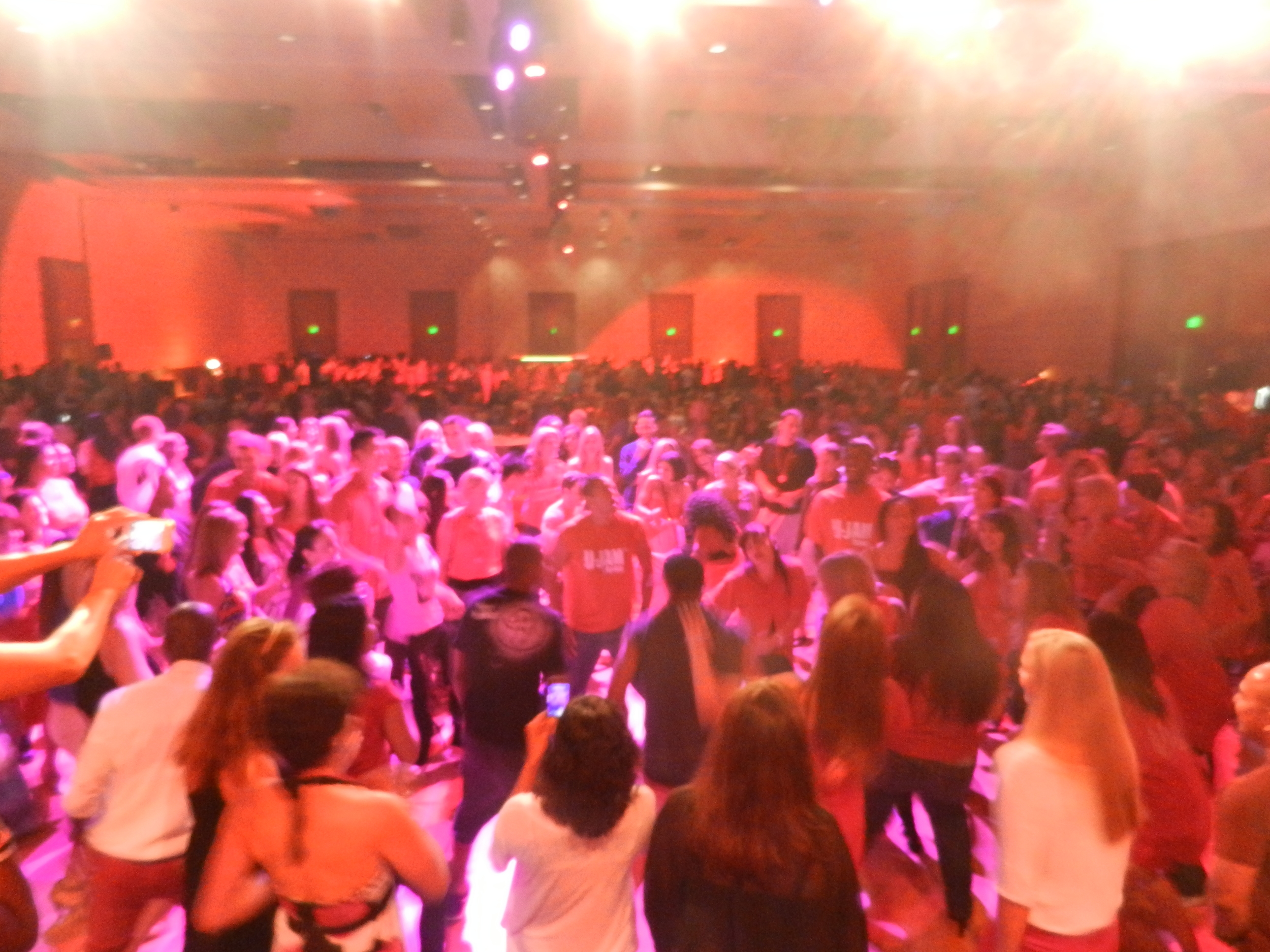 Corporate Event - Idea World Fitness Convention - Packed dance floor