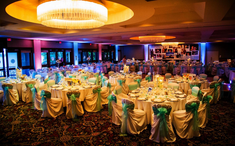 LED Uplighting - Catamaran Resort - San Diego Wedding
