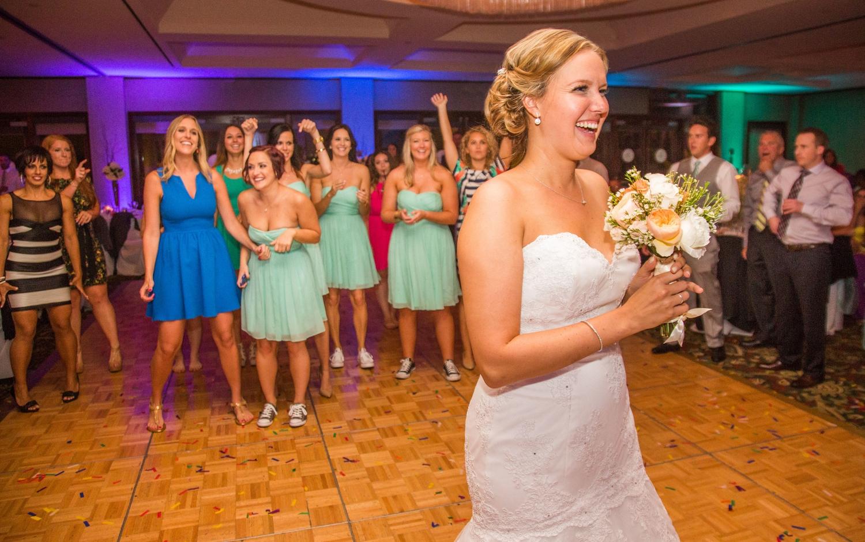 Dance floor Led Uplighting - San Diego Wedding