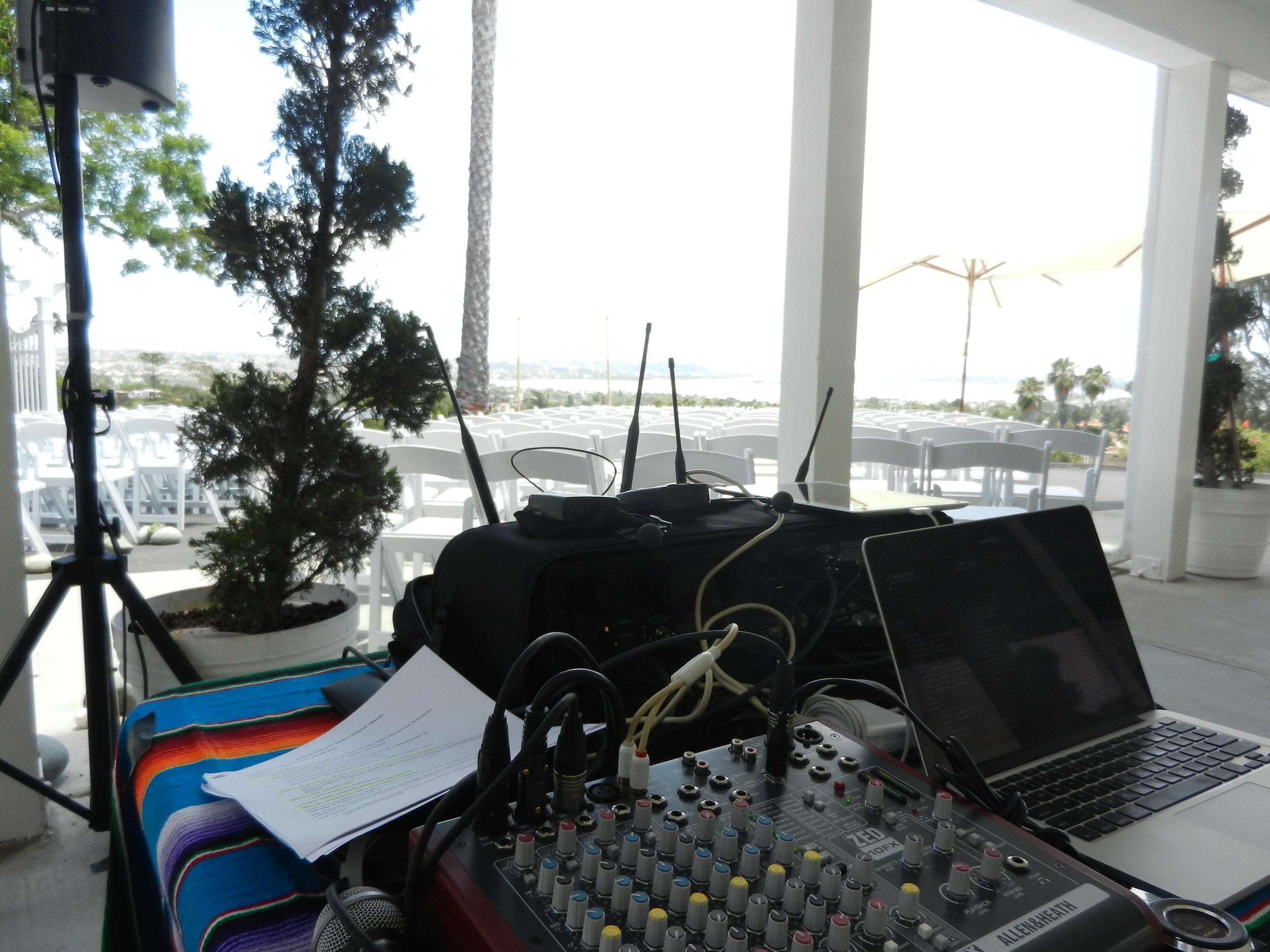 Wedding CeremonySound -Soledad Club, San Diego