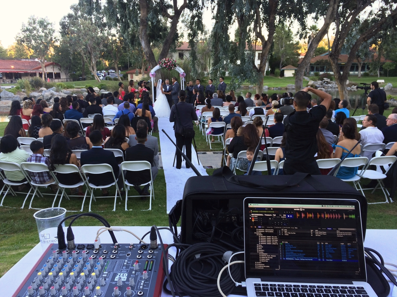 Wedding CeremonySound- Webb Park, San Diego
