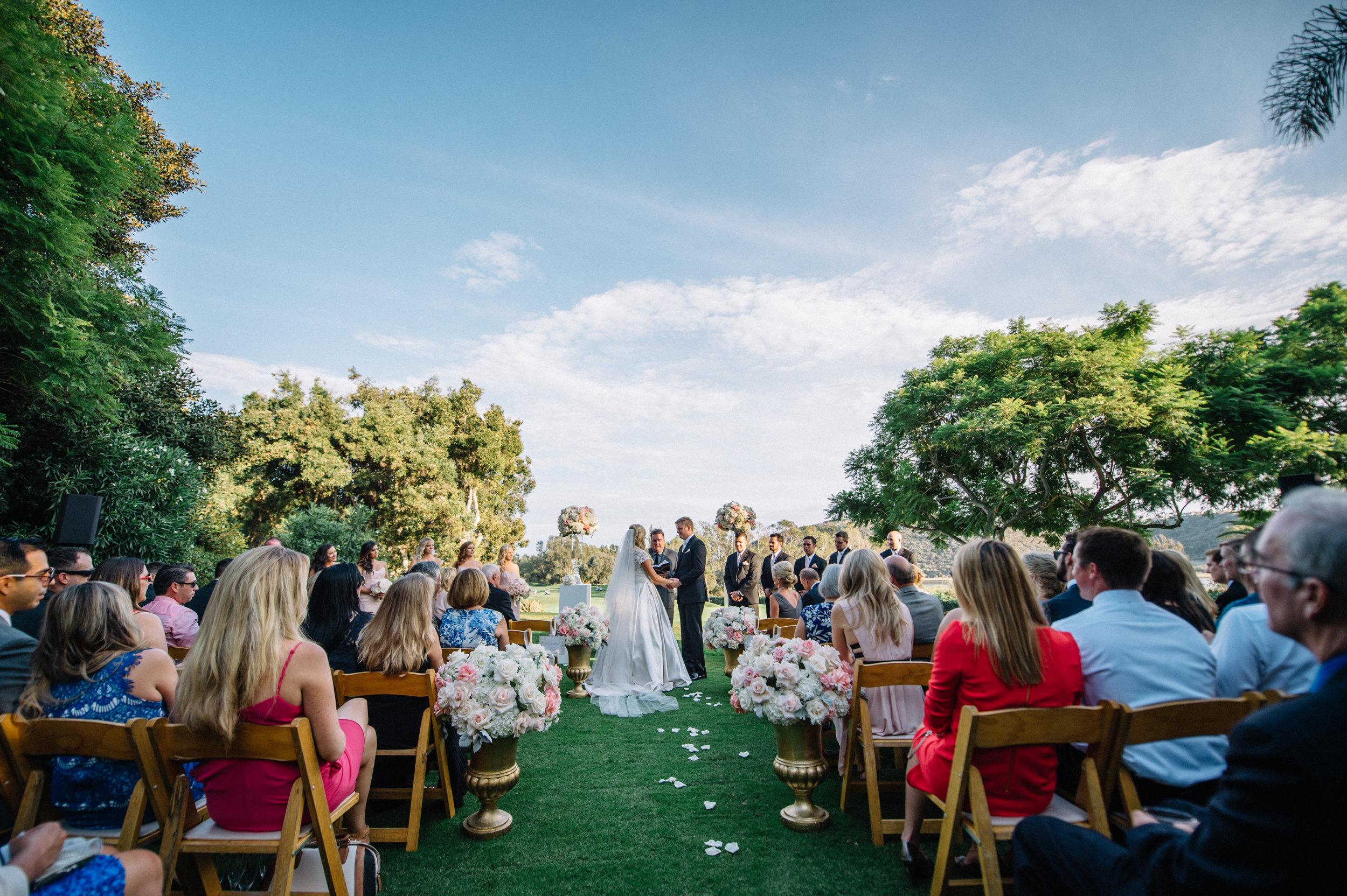 San Diego Wedding - Park Hyatt Aviara Resort, Carlsbad