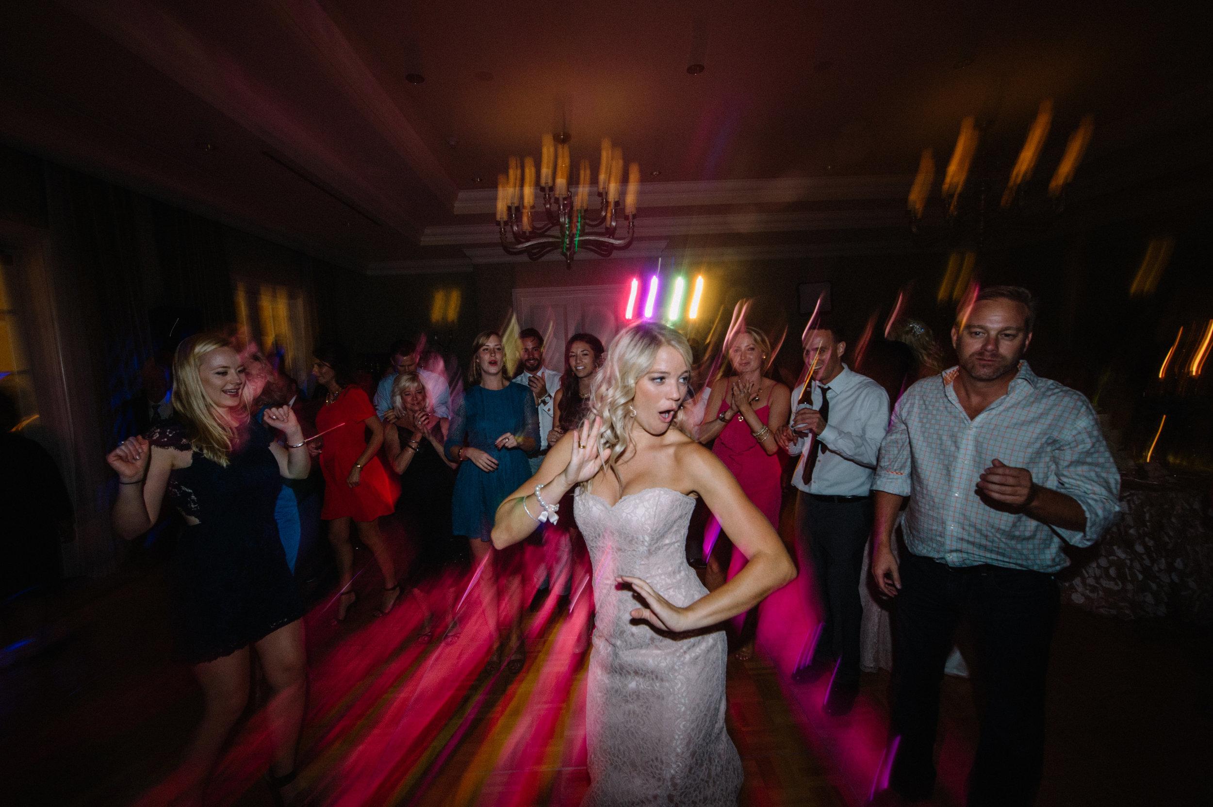 Wedding dance floor lighting - Park Hyatt Aviara Resort, Carlsbad