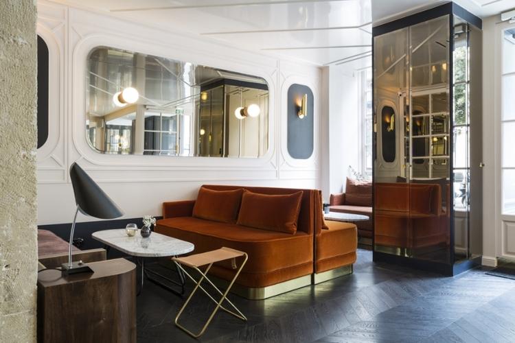 Hotel Panache, Paris || designed by Dorothée Meilechzon