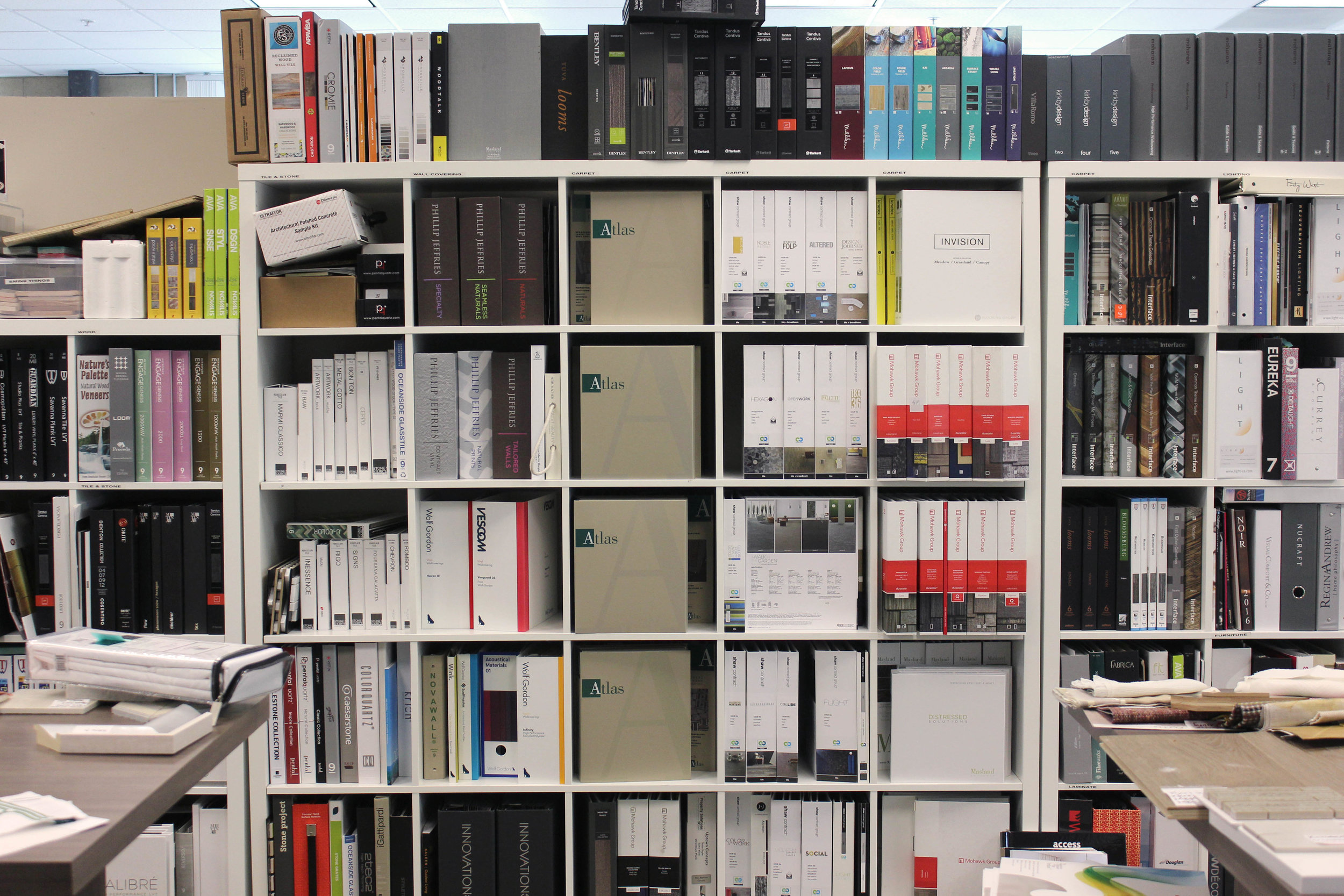 Probably our most organized area of the library!