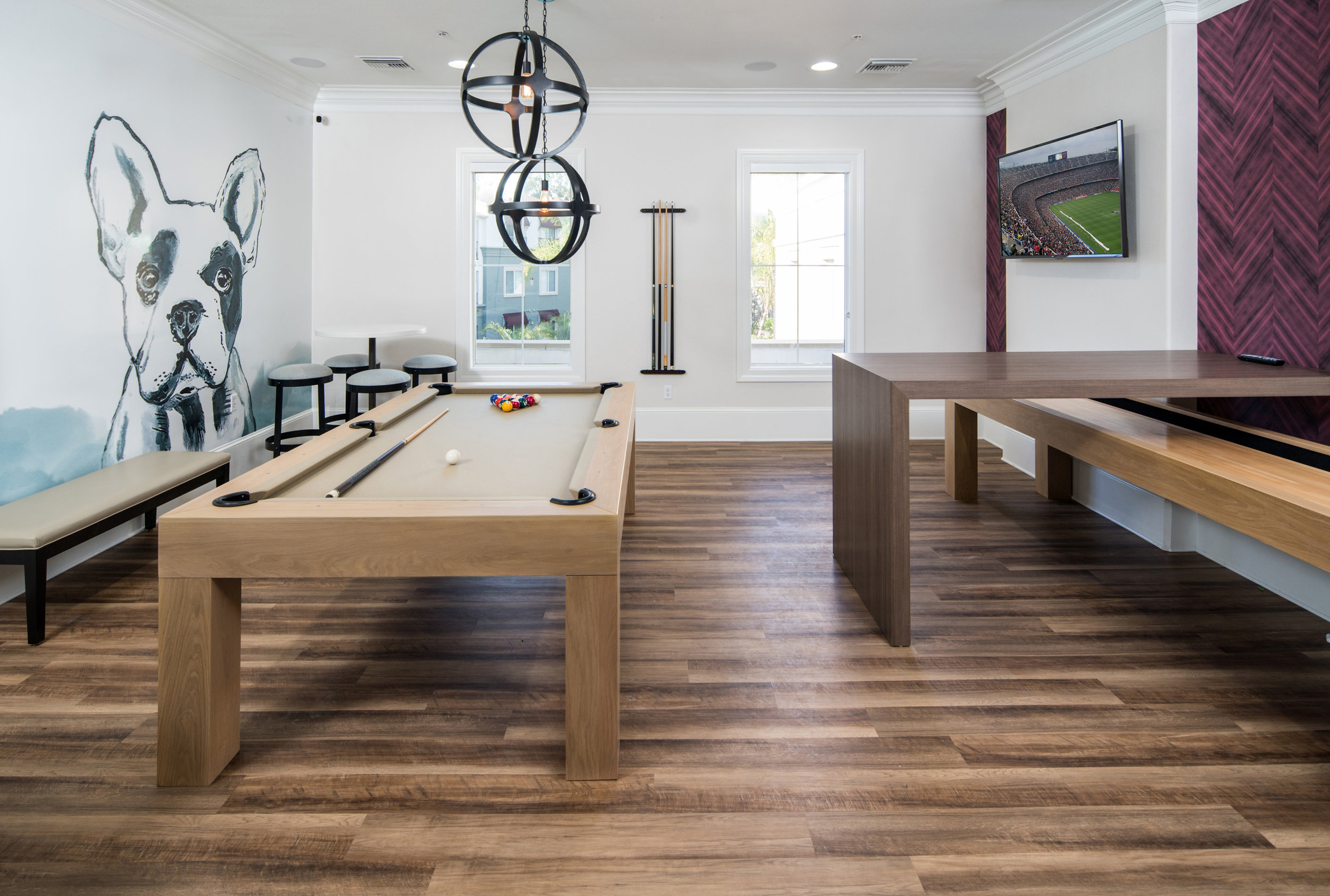Game Room Top Interior Design Firm Irvine Hibner Design Group