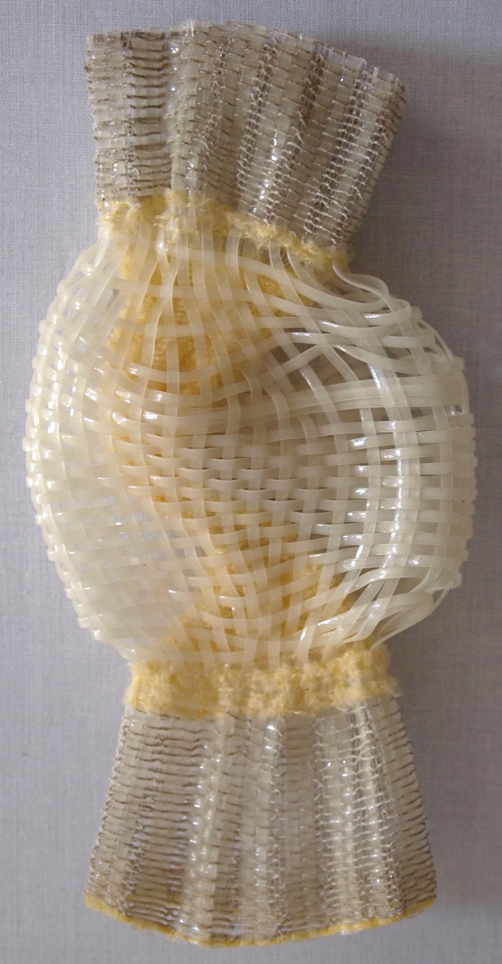 Hand Woven  Glow-in-the-dark Plastic Lacing, Nylon Elastic, Polyester, Monofilament