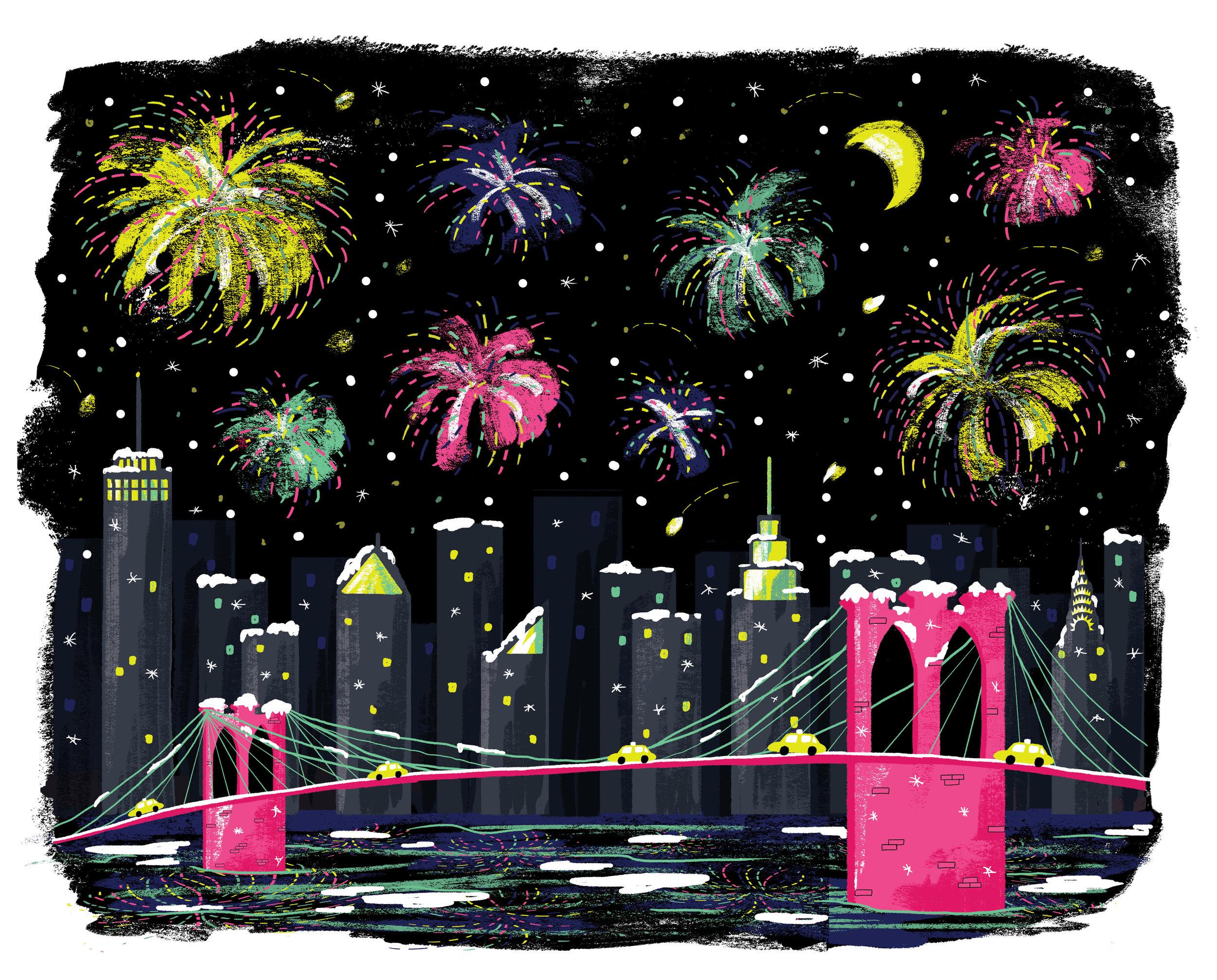 Illustration for Fem Foundry: 2017 New York Calendar