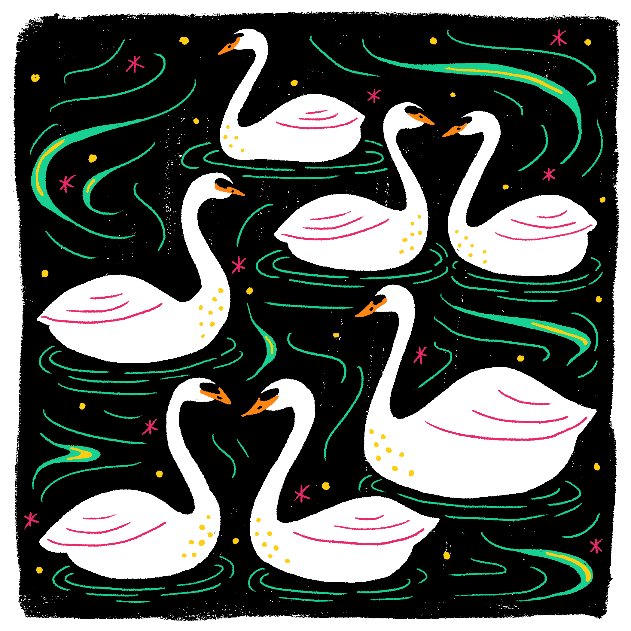 Day 7: Swans