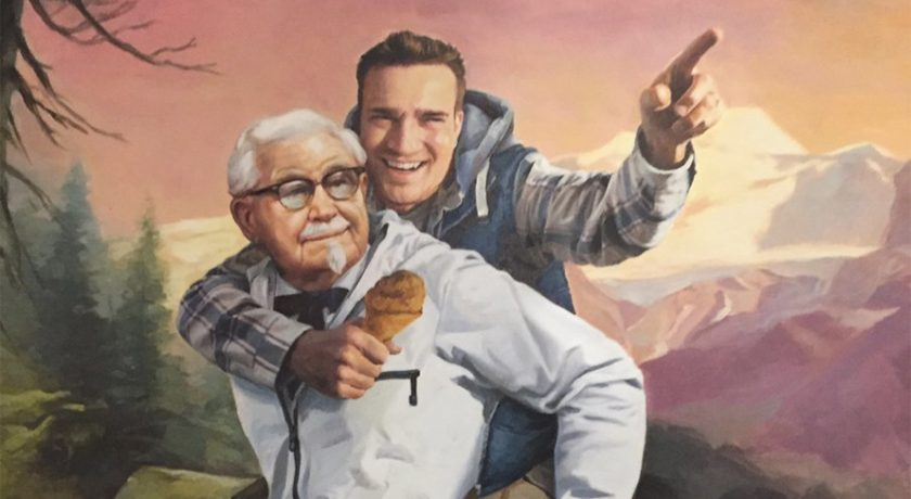 http://www.adweek.com/creativity/kfc-painted-a-portrait-for-the-man-who-spotted-its-11-herbs-and-spices-stunt-on-twitter/