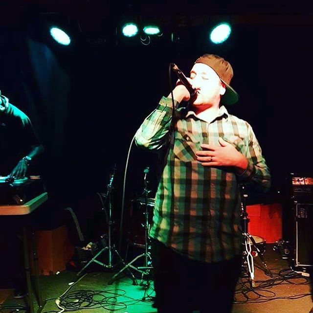 Dope shot thanks @stryfe_ct_hiphop from tonight's show 10th anniversary of Praytor Fest at the @strangebrewpub