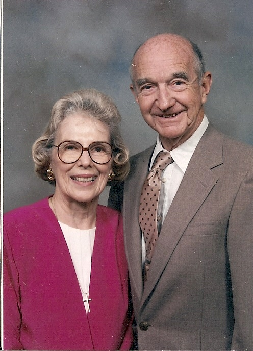 Mrs. Margery and Mr. Chuck Cook