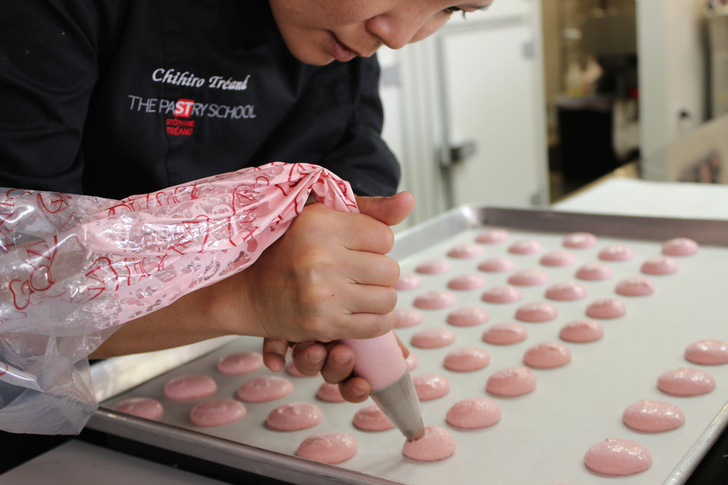 Each macaron is handcrafted by our talented chefs!