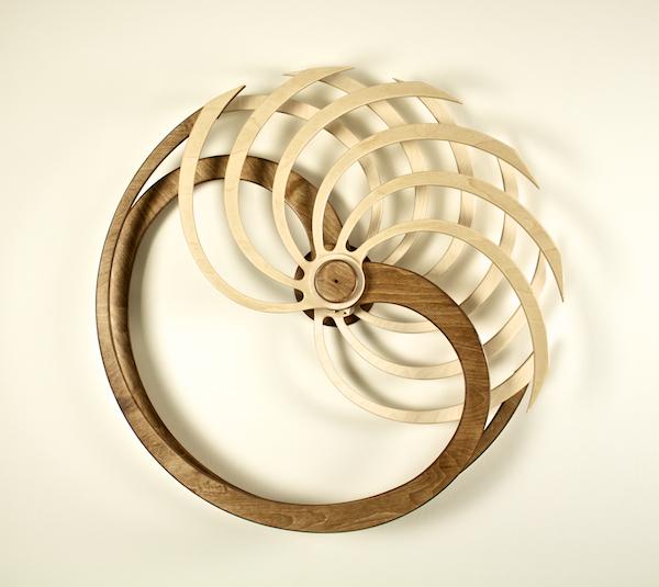 Nautilus Kinetic Sculpture by David C. Roy