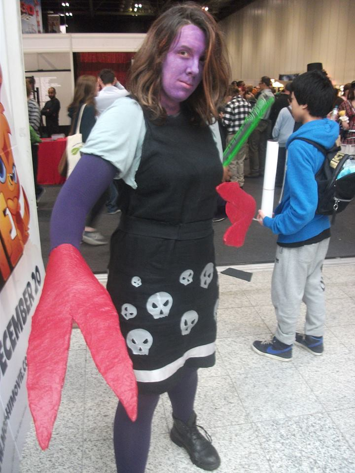The Clawed Girl at London Comic Con!