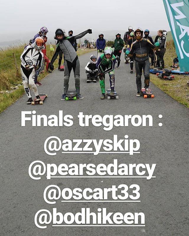 #tregaron #tregaronfreeride #tregaronfreeride2018 finalists on the line!!! #boardlogic #longboarding #longboard